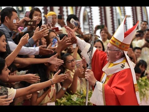 Pope Francis Mass with Myanmar Catholic Youth