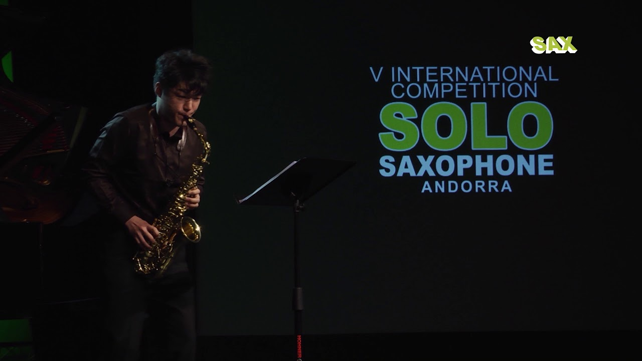 RYO NAKAJIMA - 2nd ROUND - V ANDORRA INTERNATIONAL SAXOPHONE COMPETITION 2018