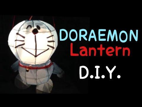 US$3 DIY a Doraemon Paper Lantern