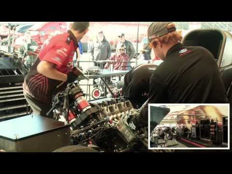 8,000 HP Funny Car Engine Breakdown