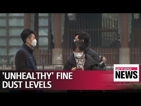 "S. Korea's central region to see ""bad"" levels of fine dust due to stagnant air flow"
