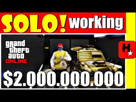 *SOLO* Gta 5 Online Money Glitch *WORKING RIGHT NOW*...(Easy Unlimited Money) Gta5 Solo Money Glitch