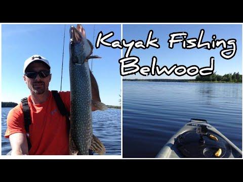 Belwood Lake Kayak Fishing