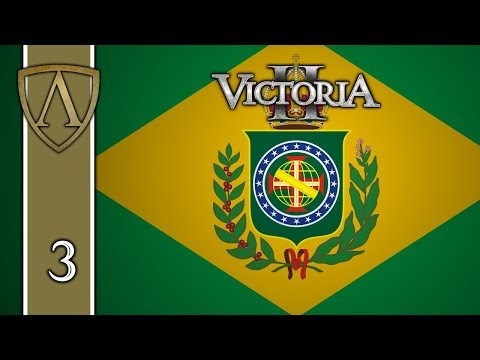 Victoria II Tutorial -- Empire of Brazil -- Part 3: The Early Years