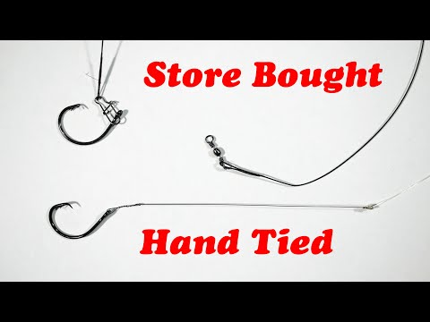All About The Wire: How To Tie A Wire Leader - Haywire Twist And Albright Knot