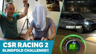CSR Racing 2 Blindfold Challenge!