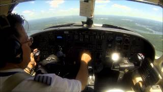 Citation V - single pilot flight to FL450!