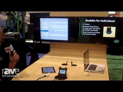 InfoComm 2014: FSR Shows Off Its New HuddleVu Flex Collaboration System