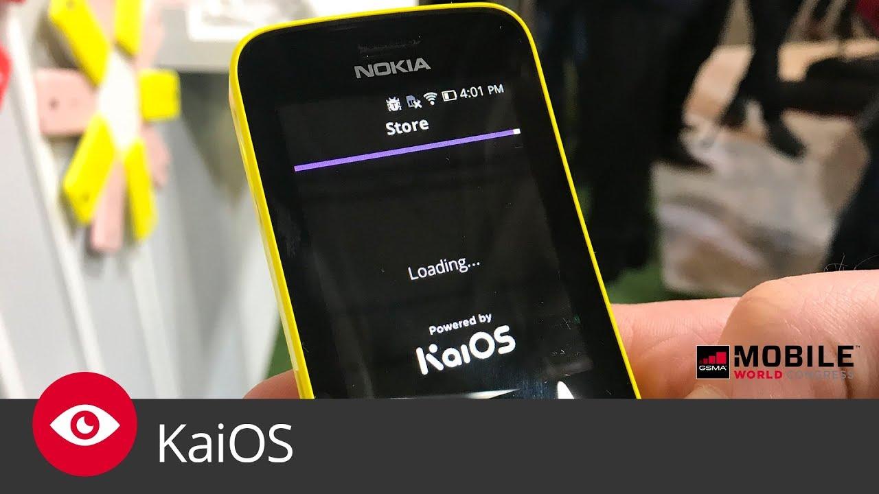 KaiOS (MWC 2018)