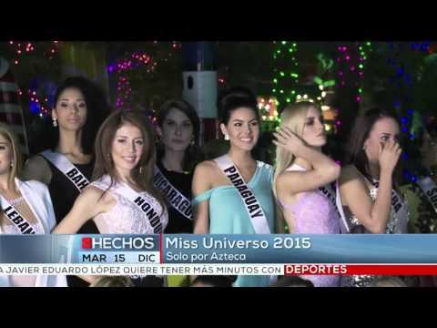 Miss Universo 2015 solo por Azteca