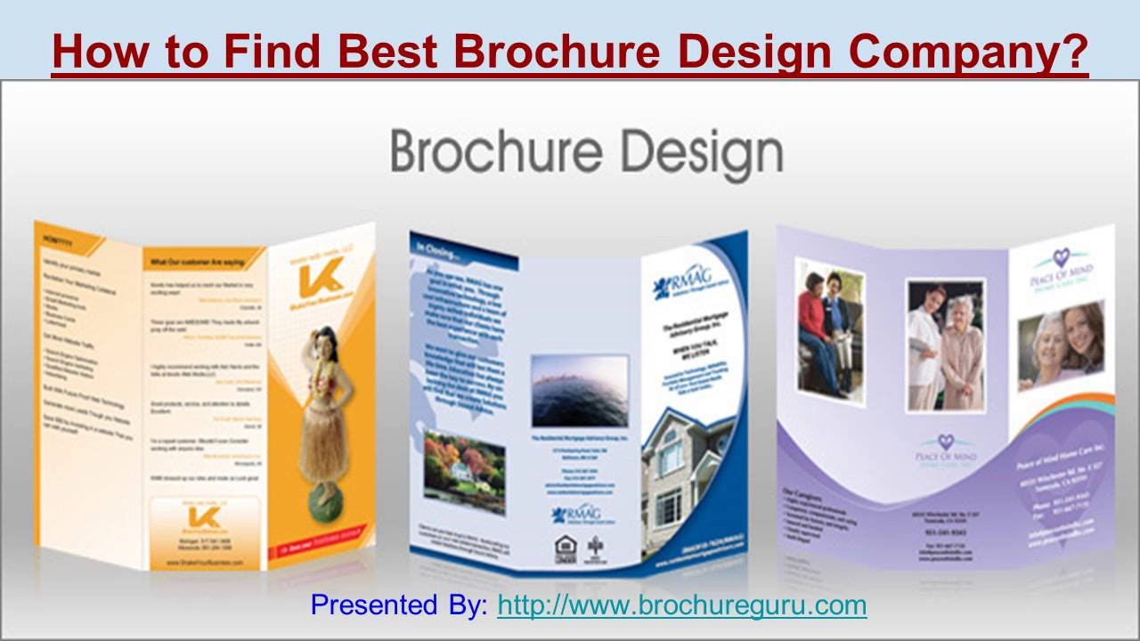 Célèbre How to find best brochure design company? - YouTube HG91