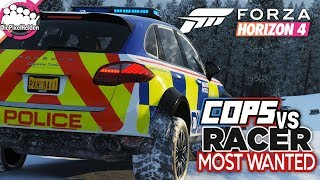 FORZA HORIZON 4 - COPS vs RACER Most Wanted : Im Winterwunderland - Forza Horizon 4 MULTIPLAYER
