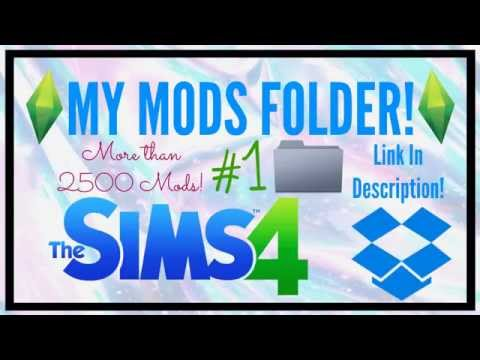 The Sims 4 | My Mods Folder! Clothes, Poses, Furniture And More! |  LonnekeSimmer