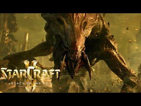 Elite A.I. Zerg Attack - 6 Player FFA- StarCraft 2 Legacy of the Void Multiplayer Gameplay