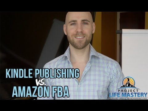 Kindle Publishing vs. Amazon FBA - What Should I Do?