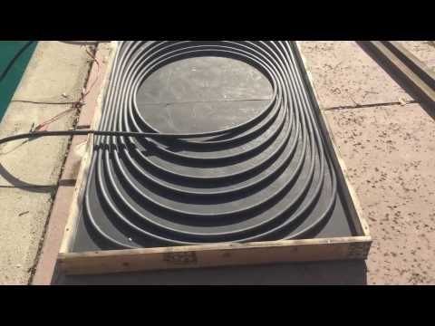 Solar pool heater home made under 100$ :)