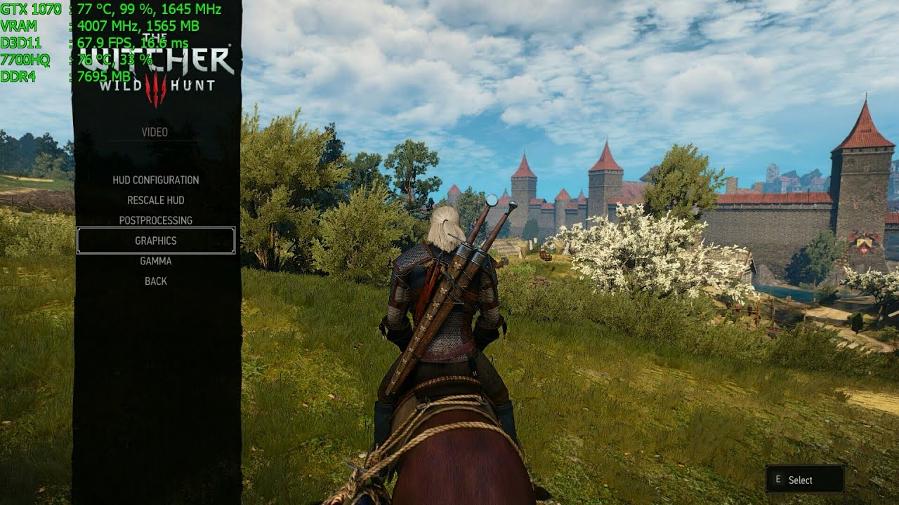 witcher 3 laptop