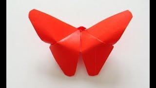 🎁 Как сделать бумажную бабочку   Легкие бабочки оригами начинающих   Видео Поделки своими руками!