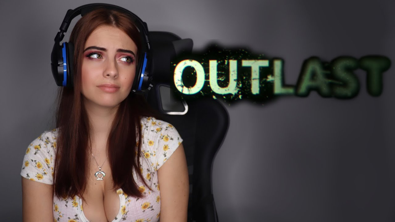 Outlast Gameplay Funny Moments | Julia Burch