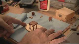 Part 6 Of 6 - Bible Table - Scroll Saw Wood Craft Project Demonstration.