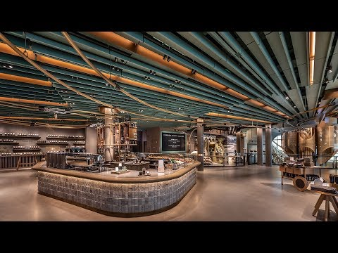 Kristina Kage - World's Largest Starbucks Opens TOMORROW - A Look Inside