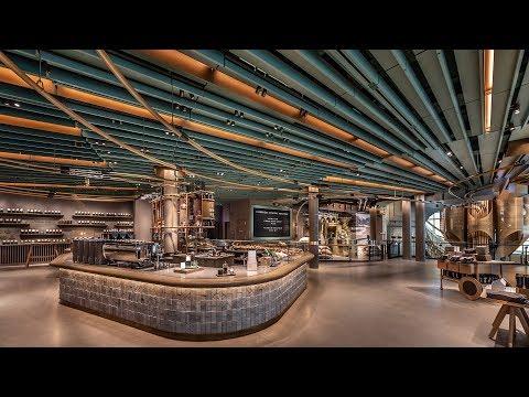 Kristina Kage - World's Largest Starbucks Opens TOMORROW - A Look Inside