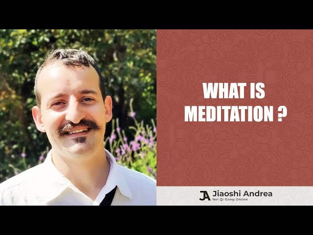 What is Meditation? a simple explanation to a complex question...