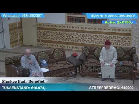 Moskee Badr Benefiet