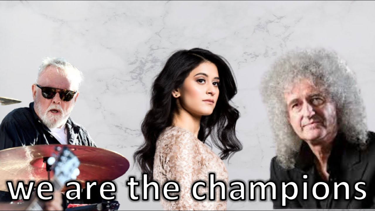 Shuba, Brian May, and Roger Taylor - We are the Champions