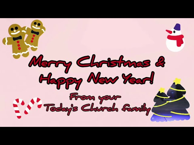 It's the Most Wonderful Time of the Year! | Danrey Amoyo | Today's Church Live (Dec 20, 2020)