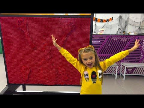 ВЛОГ Идем в Музей Науки с Ярославой! Развлечение для детей Батуты Pin Screen Giant! - Поиск видео на компьютер, мобильный, android, ios
