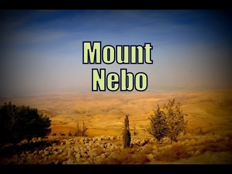 Visiting Mount Nebo, Jordan Travel Video (جبل نيبو‎ Jabal Nībū - הַר נְבוֹ‎ Har Nevo)