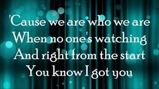 I Won't Mind - Zayn Malik ft. Naughty Boy (LYRICS)