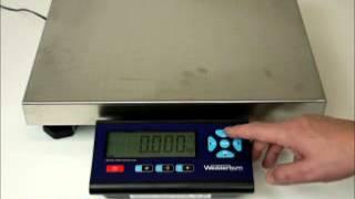 Industrial Platform Scale - Instructional Video