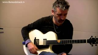 Jazz guitar lesson: How to play easily over chord changes