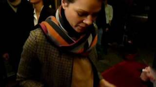 Jessica Schwarz signing autographs on February 8th, 2011 in Ludwigsburg (Germany) *EXCLUSIVE*