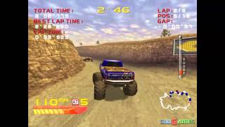 4 Wheel Thunder - Gameplay Dreamcast HD 720P