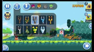 Angry Birds Friends The Movie Hype Tournament ● LEVEL 5 ● 236 K HD ● Week 203 ●  POWER UP