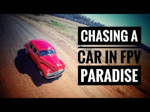 CHASING A CAR IN FPV PARADISE (Perth Crew Reunion - Ep. 2 Holden Fun)