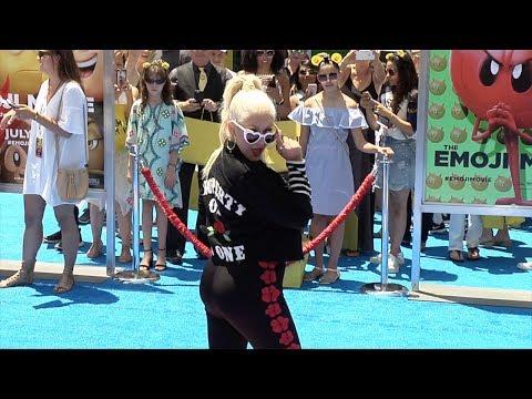 "Christina Aguilera ""The Emoji Movie"" World Premiere"