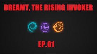 Dreamy, the Rising Invoker ep.01 - Dota 2