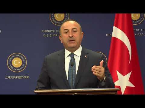 Dışişleri Bakanı Sayın Mevlüt Çavuşoğlu'nun Yunanistan Dışişleri Bakanı ile Ortak Basın Toplantısı