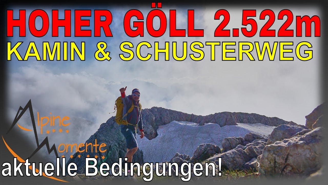 🇩🇪 - 🇦🇹 Grenzgang | Hoher Göll: Kamin und Schustersteig - Die Doku | Alpine Momente
