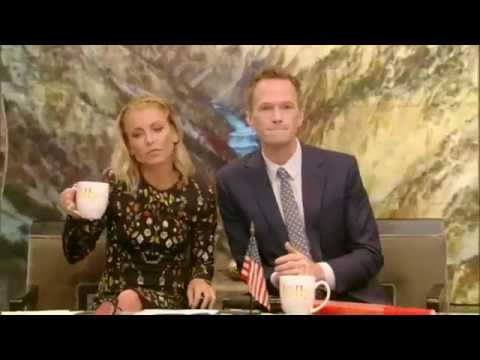 Live with Kelly September 16  2016 Neil Patrick Harris  Alan Cumming  Paige VanZant teaches Kelly