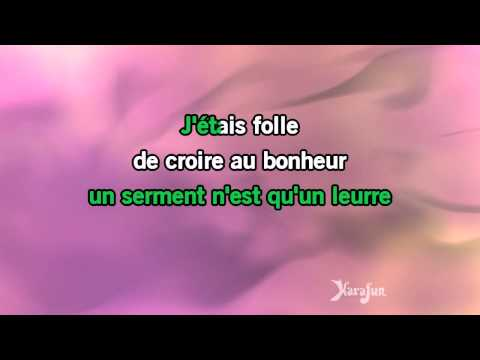 Karaoké Mon amant de Saint-Jean - Lucienne Delyle *