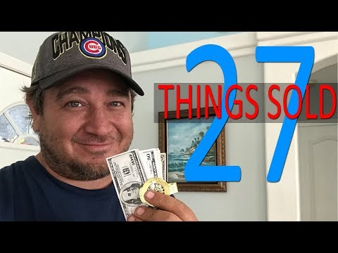 27 THINGS SOLD ON EBAY ETSY MERCARI & THRIFT STORE HAUL