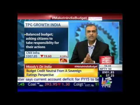 Manish Chokhani of TPG India on Budget 2015