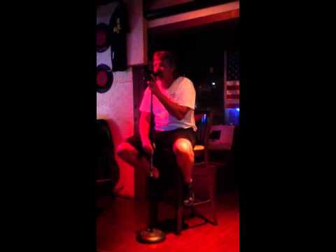 DJ MANWHORE singing 'Ships That Don't Come In' by Joe Diffie