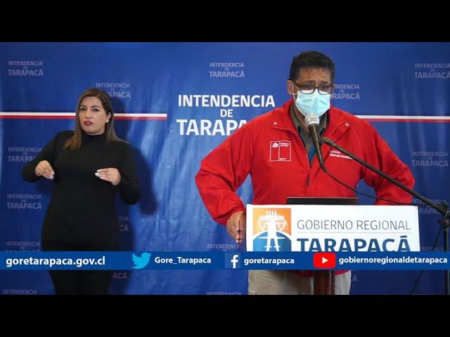 Punto de prensa 05 de agosto de 2020 - Gobierno Regional de Tarapacá