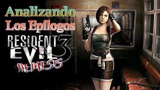 Analizando los epílogos de Resident Evil 3: Nemesis